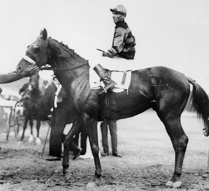 Sir Barton - Sir Barton was the 1st TB to win the Triple Crown which he did in 1919.