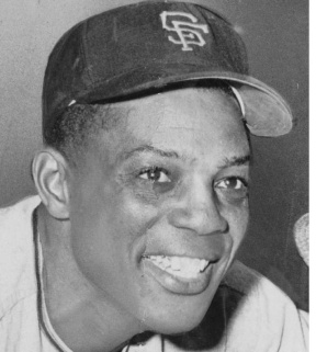 Willie Mays - One of the greatest outfielders in baseball history! The godfather of Barry Bonds and Willie turned 80 yesterday!