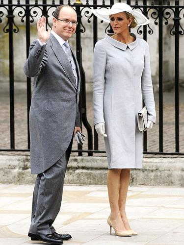 Prince Albert - Prince Albert of Monoco and his fiance at Prince Williams and Kate Middleton's wedding.
