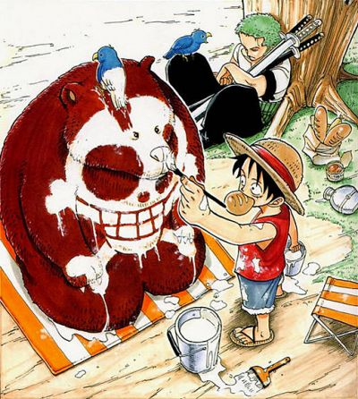 One Piece - i really like Luffy and Zoro! :]