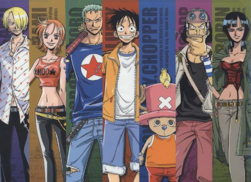 Mugiwara Pirates - from the anime, One piece