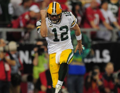 Aaron Rodgers - The Green Bay Packers QB. He did alot of maturing last season!