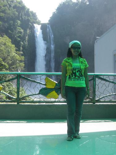 maria cristina falls - the twin falls - maria and cristina