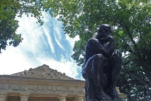 The Thinker - Another Thinker statue. This one is in Philadelphia.