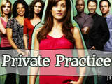 Private Practice  - Addison Shepherd and group of Pacific doctors behind her.