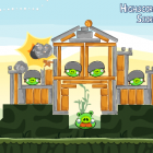 Angry Birds - One of the crazy levels in the game!