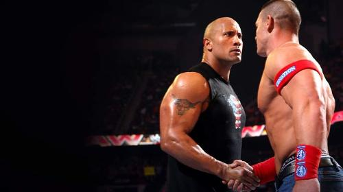 The Rock N John Cena - Rock will face John Cena At Wrestemania 28  The time always like this right in wwe ?  XD