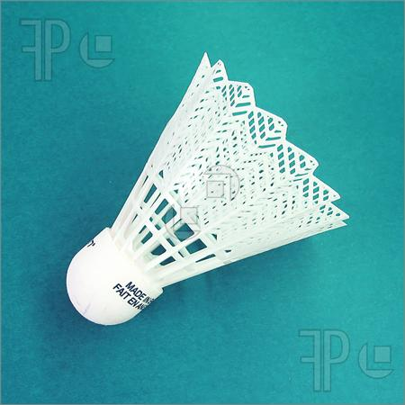 Shuttlecock or Birdie - Shuttlecock is used for playing Badminton.