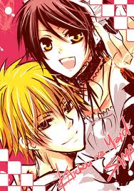 Kaichou wa Maid sama anime - kawaii couple. :D
