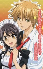 Misaki and Usui - Kaichou wa Maid sama cute couple