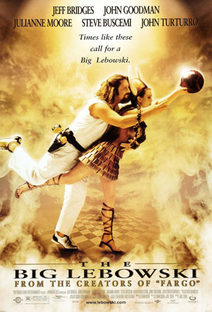 The Big Lebowski - This movie stared Jeff Bridges and John Goodman. I heard it is more of a guy film! Some guys like it some don't! had no idea it dealt with bowling!