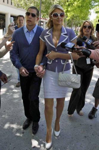 Paris Hilton - Paris Hilton with boyfriend