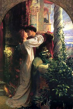 Romeo and Juliet - Romeo and Juliets love was forbidden! Another form of love.