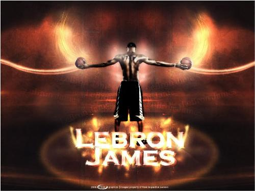 The nba basketball star - Lebron James,the professinoal basketball player,played in the MIami heat.2003 NBA draft convention in 18, 2010,as a free agent James opt for the Miami heat, with annual buddy German ?dwyane wade sand Chris bosh stand together.