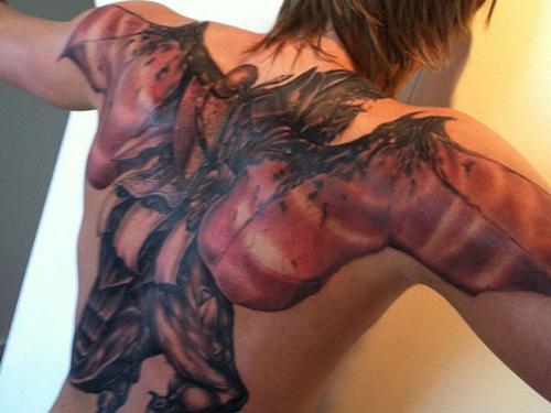 Kirilinko's tattoo - What was he thiking? Yikes!