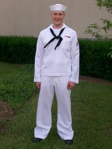 Dan - Dan on graduation day from Navy boot camp.