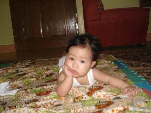 my precious baby.. - my baby when she was 6-months old..