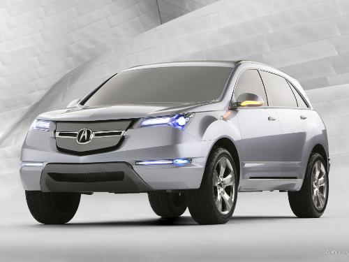 acura md-x - wow