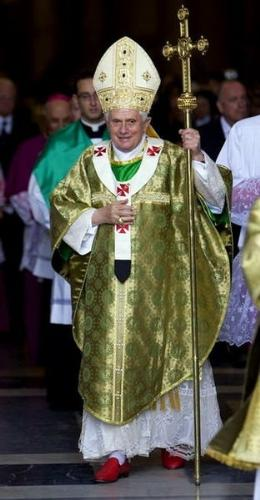 The Pope - Pope Benedict. He was left with the mess with the priest sex scandal which Pope John II ingonered!
