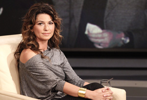 Shania Twain - She is having her own reality show and just wrote a book.