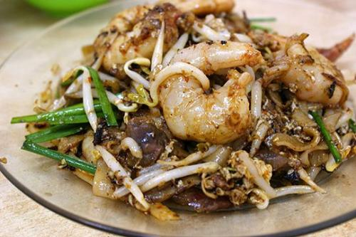 Char Koay Teow - Also know as Fried Koay Teow, one of Penang's delicacies.