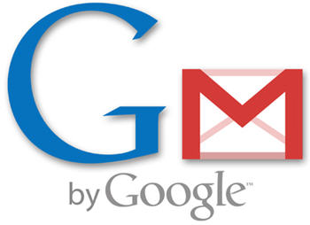 Gmail - A picture of a large G by an envelope (gmail).