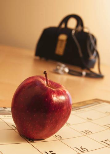 An Apple A Day - An apple a day keeps the doctor away.