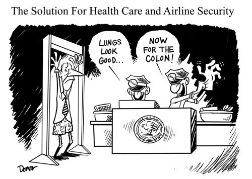 Talk About Invasive - The TSA takes on health care.
