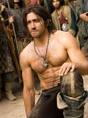 Prince of Persia - here is Jake Gyllenhaal from a scene from the movie 'Prince Of Persia'! Never saw the movie but I could look at Jake all day long!