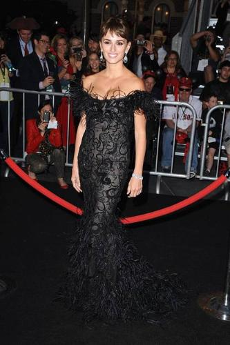 Penelope Cruz - Penelope at an opening for the newest Pirates of the Caribeen movie. Love the dress!