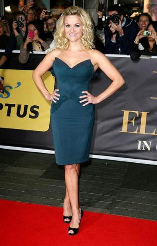 Reese Witherspoon - Reese at a premire of 'Water for the Elephants'.