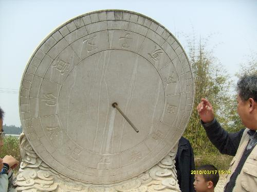 an ancient eqipment to measure year - nothing can be said,It's a easy eqipment to use.