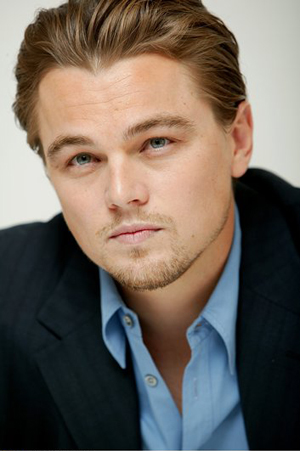 my favorite actor - I like this pic of Leonardo for he looks very mature after when I first saw him in Titanic as a seasoned actor of such a little age.