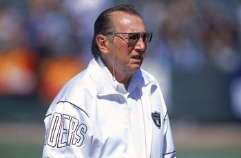 Al Davis - The Oakland Raiders owner who sometimes makes alot of mistakes with the team! Like drafting players,picking coaches and trades!