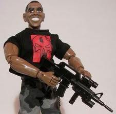 Fierce Obama Seal Doll - This is a picture of the Fierce Obama Seal Doll, who, in real life, looks nothing like this. Really.