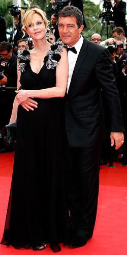 Melanie and Antonio - Melanie Griffin and hubby Antonio Banderes at this years Cannes Movie festival.