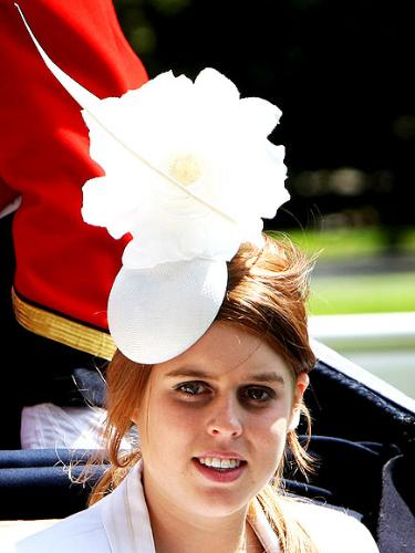 Princess beatrice - The Princess wearing a silly hat.