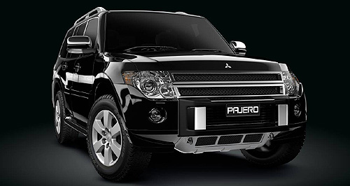 Pajero RX - one of the coolest releases limited edition of Pajero