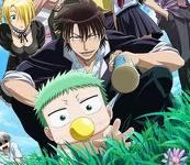 beelzebub - hilda, baby beel, oga. Beelzebub anime