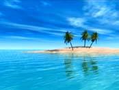 ocean - like blue hills