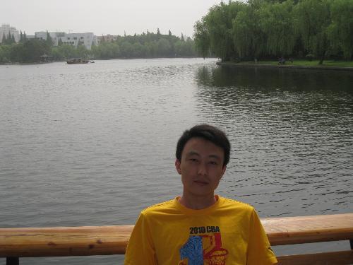 Huajia Lake - Huajia Lake with my brothers!
