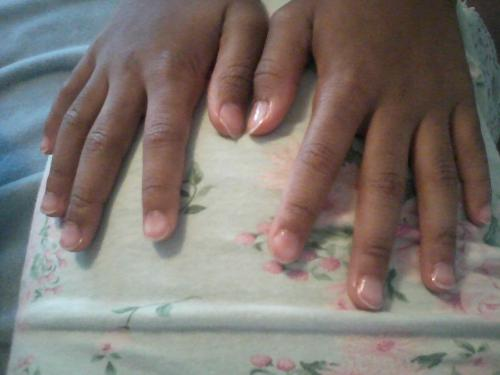 Fingernails - My 9 yr old is growing up.