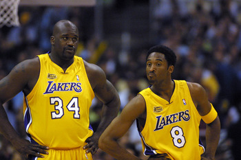 Shaq and Kobe - This is when they were teammates when both were on the Lakers. Both didn't like each other and were terrible teammates,too!