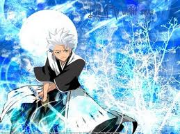 Toshiro Mitsugaya - This is one of my favorite characters in bleach
