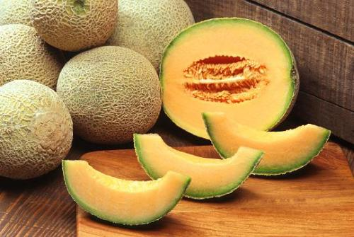 cantaloupe - This is a delicious fruit, cantaloupe..