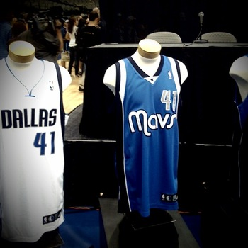 Dallas Mavericks - These uniforms should not of be put on the 'NBA Worst Uniforms' list I will never know!