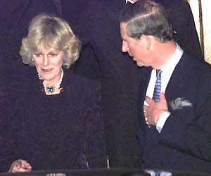 Camilla and Charles - I still can't believe they were not permited to marry when they first met! crazy