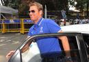 Shane Warne - Warne arrives for his BCCI hearing