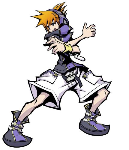 The World Ends With You - One of the coolest pic's for a game called the world ends with you