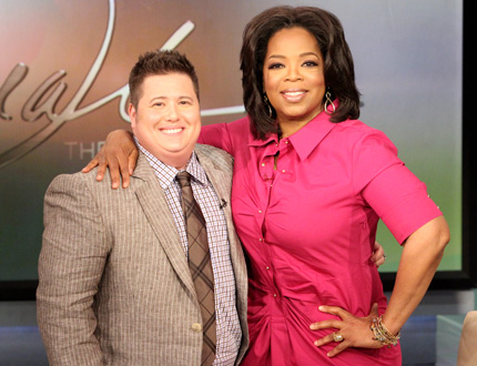 Oprah and Chaz Bono - I watched most of this episode about how Chaz Bono transforming from a woman to a man. I still don't understand it and maybe never will!